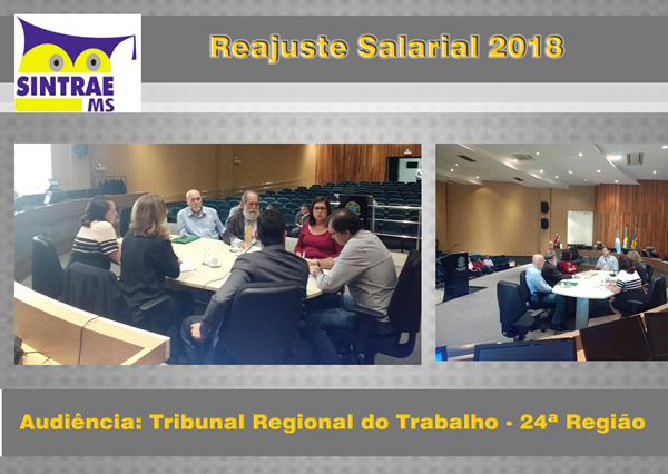 reajuste salarial audiencia